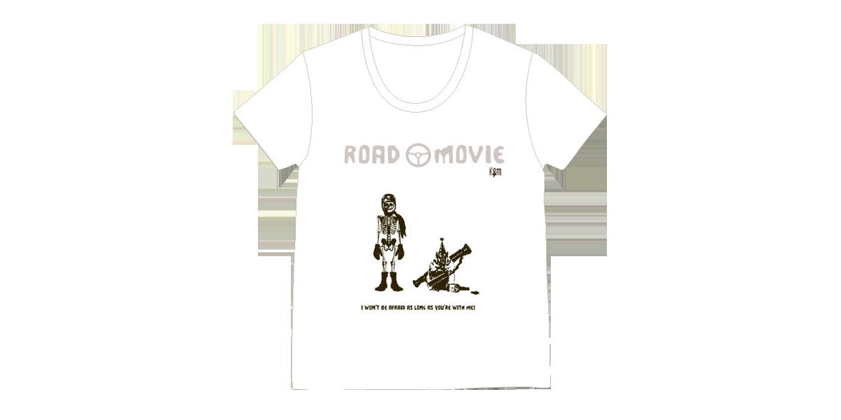 『ROAD MOVIE Uネック Tシャツ(XS・Mのみ)』