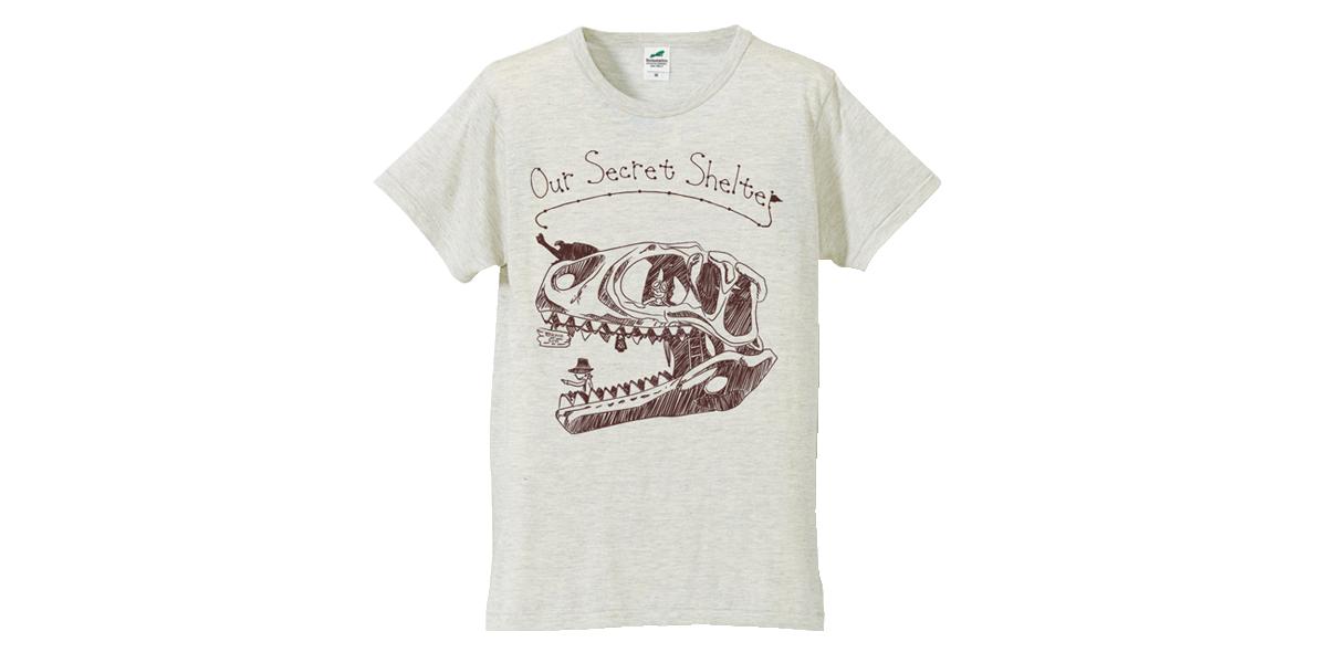 『シークレトシェルターTシャツ』