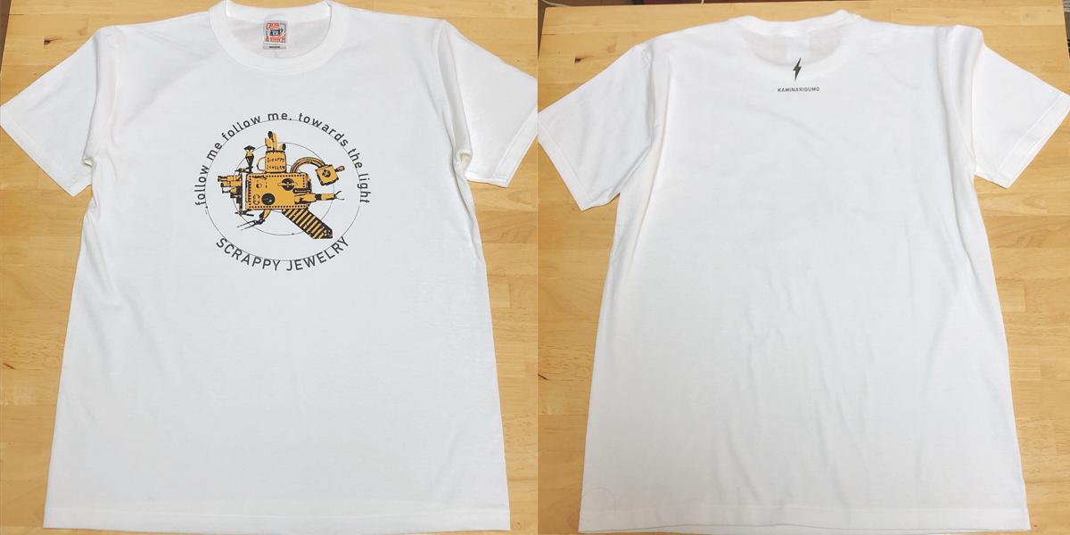 『SCRAPPY  JEWELRY』Tシャツ(ナチュラル)